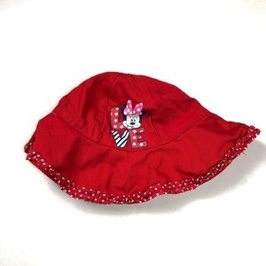 Infants Minnie Mouse Red sun hat